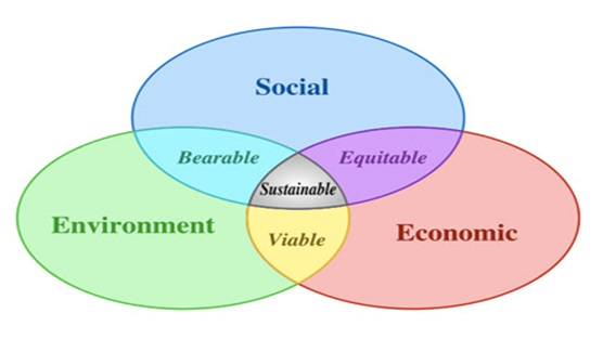 sustainability venn